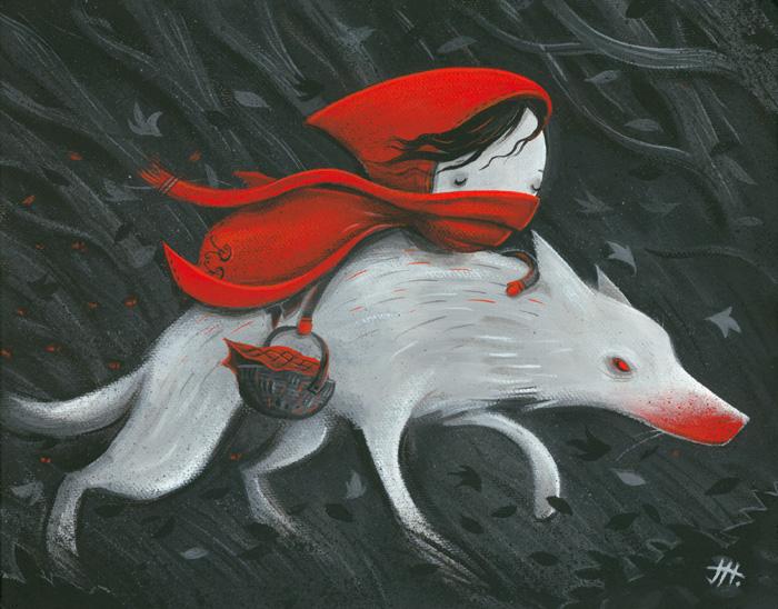 квартир картинка красная шапочка и серая шубка острые зубки врастает близлежащие ткани