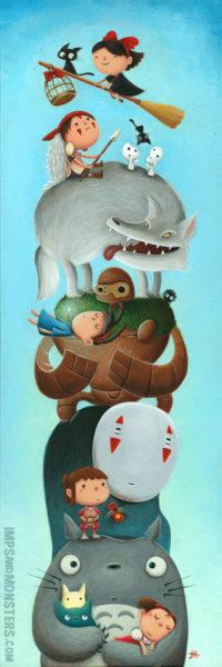 Miyazaki Totem 1