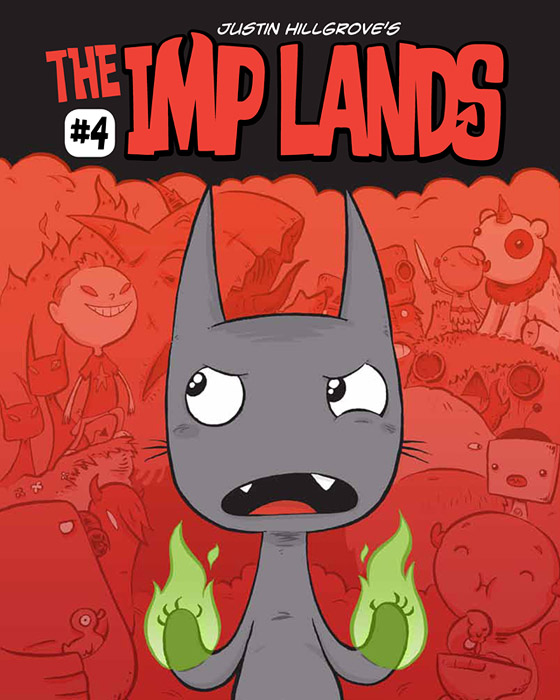 Imp Lands Comic Book 4