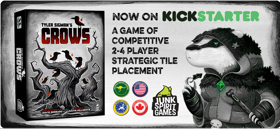 Crows Game on Kickstarter