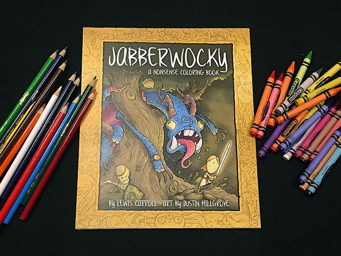 Jabberwocky A Nonsense Coloring Book